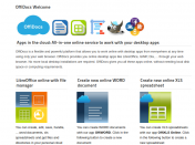 Offidocs: Suite de software libre online
