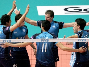 Volley: Argentina 3 - México 2 published in Deportes