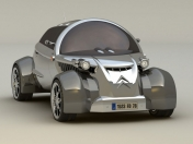 feo, 2008 Citroen 2CV Concept Design by David Portela