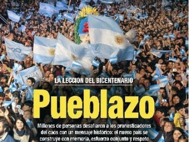 Revista XXIII 27/05/2010: Scientology y Anonymous Argentina published in Noticias