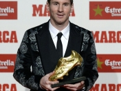 Lionel Messi ganó su tercera 'Bota de Oro' [FOTOS + VIDEO]