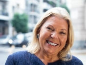 Carrió ratificó que Maldonado podría estar vivo en Chile