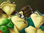 Battletoads by: JAG_Comics