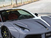 el Ferrari 488 modificado de Liberty Walk