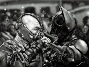Bane vs Batman (The Dark Knight Rises) [Speedpainting]
