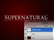 [photoshop] tutorial efecto texto supernatural
