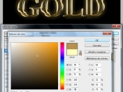 Hacer letras GOLD en photoshop [letras doradas]Tutorial