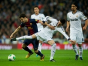 Real Madrid CF (1)  vs  FC Barcelona (1) - Copa del Rey