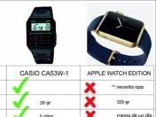 Casio vs Apple Watch