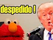 Donald Trump despide a Elmo de Plaza Sésamo