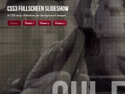 FullScreen Background Imagen Slideshow With CSS3