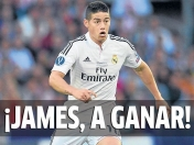 D10s James entra por CR7