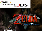 rumor!! remake de zelda twilight princess en new nitendo 3ds