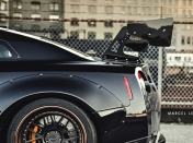 Nissan GT-R R35 modificado por Liberty Walk