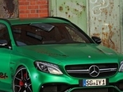 Mercedes C63 AMG Estate: un auto familiar con 800cv