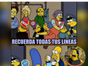 Audicion en la AFA para ver a quien ayuda version Simpsons