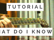 What Do I Know - Ed Sheeran tutorial guitarra y acordes