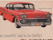 El Chevrolet Bel Air de 1958