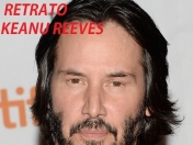 Retratos De Famosos #47.Keanu Reeves.Actor De Matrix Neo.:).