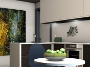 What are the most preferred colours for the kitchen?