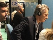 exclusivo! macri trabajo! atendió un rato un call center