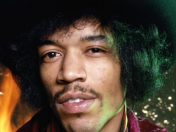 Jimi Hendrix fotos a todo color full HD