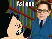 Disney quedo domadito por James Gunn y lo re-contratan