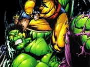 Hulk vs Wolverine, la pelea animada on line