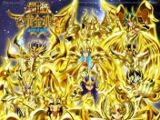 Saint Seiya Soul of Gold Wallpapers