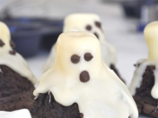 Mini-Tutorial Halloween: Fantasmas en chocolate blanco.