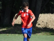 Seleccion Chilena sub 21 a Toulon
