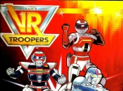 Album de figuritas: VR Troopers 1995