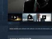 Hitman gratis en Steam