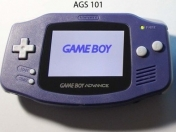 GameBoy Advance Original con pantalla retroiluminada (mod)